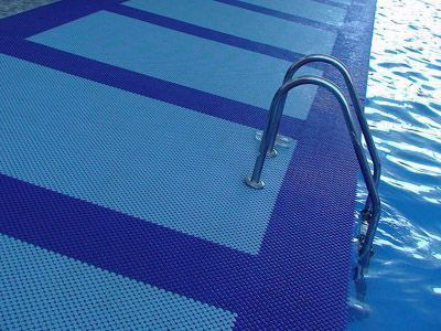 Flooring for Wet Areas - Swimming pools