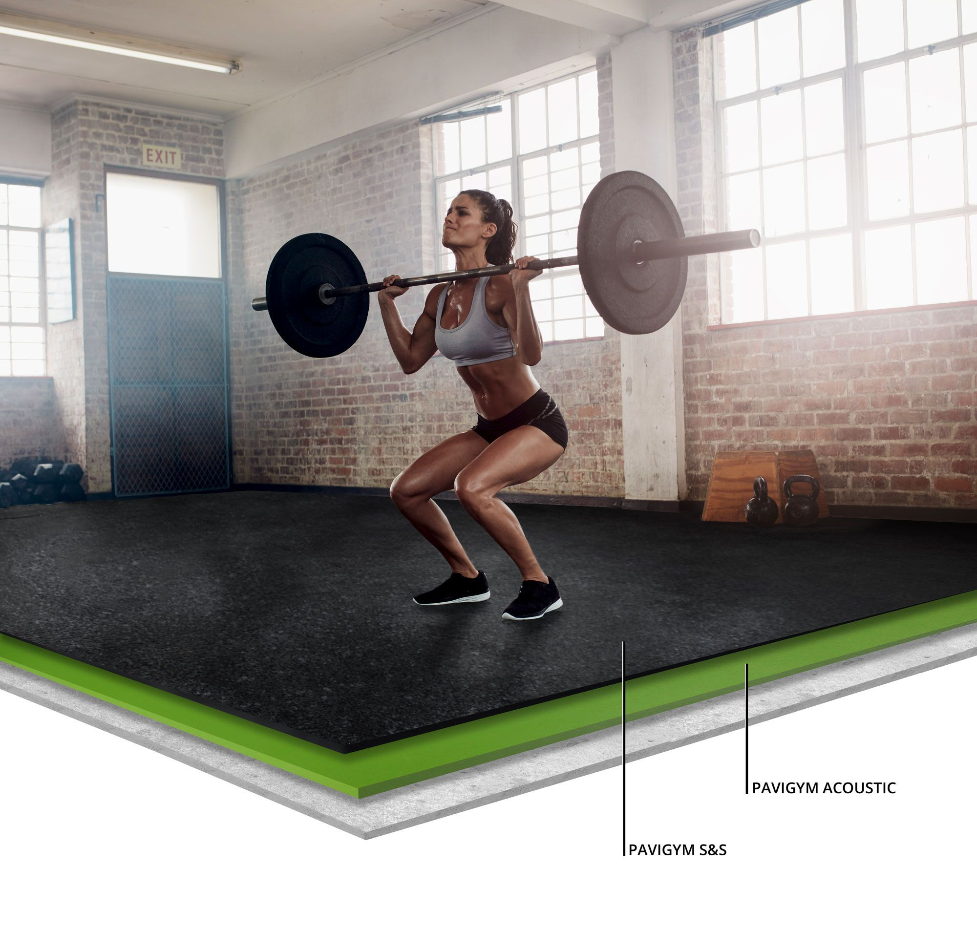 Reduce Gym Noise and Vibration