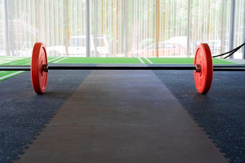 S&S and weightlifting flooring