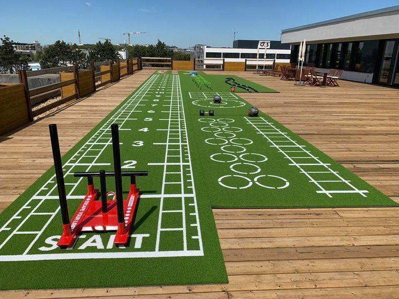 5 steps to create an outdoor area in your gym
